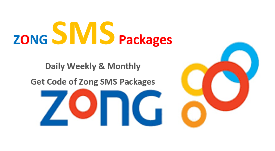 How to subscribe zong sms packages daily, weekly and monthly